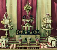 Under the Big Top Old World Circus Fundraiser Party Ideas   Photo 5 of 19   Catch My Party