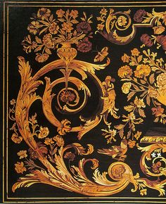 Marquetry :)  (wow would look great in penwork)