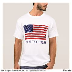 The Flag of the United States of America T-Shirt