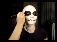 Nightmare Before Christmas - Jack Skeleton inspired turorial