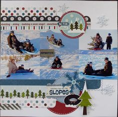 Bring on the Snow - Right Side - Scrapbook.com