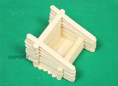 Easy Popsicle Picture Frames | materials for popsicle stick mobile stand craft popsicle sticks glue ...