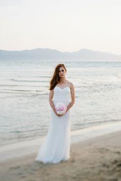 Bridal Portrait at the beach Zagreb Croatia, Vienna Austria, Bridal Portraits, Destination Wedding Photographer, Wedding Photos, White Dress, Wedding Photography, Beach, Outdoor