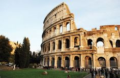 Where to go: 5 things to do in Rome #italy #travel #tips  Our granddaughter was studying in Rome during her junior year at Penn State.  We traveled to Rome, and she went with us when we explored the Coliseum.  A sight to see!