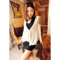 $7.57 Sequin Embellished Comfortable Thin Cardigan For Women