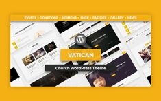 Unique collection of Church WordPress Themes based on popularity, trends and customer appeal. The collection includes themes for Churches or Mosques. Wordpress Premium, Prayer Wall, Campaign Manager, Church Events, Yoga Retreat, Event Calendar, Event Management, Non Profit, Wordpress Theme
