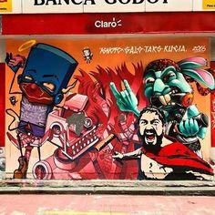 Ignoto & Galo & Karen Kueia & Tars Tars in São Paulo City, Brazil, 2016