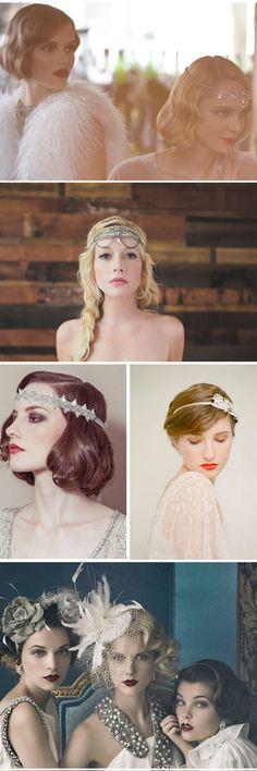 ¡Vivan los locos años 20! peinados y tocados elegantes para invitadas de lujo en el nuevo post de bodaplín. #boda #invitada #bodaplín http://www.reflejomedia.com/boda-plin/boda-anos-20-parte-ii