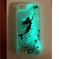 Glow In The Dark Liquid Glitter Phone Case