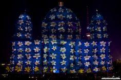 Festival of Lights 2013 Projektion auf den Berliner Dom