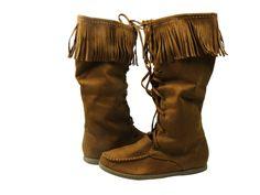 Vinery S - Fringe Mocassin Boot