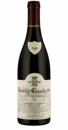 Pinot noir 2010 - Domaine Claude Dugat, Bourgogne ------------------------------ Terroir: Griotte-chamertin AOC (Côte de Nuits) - Bourgogne