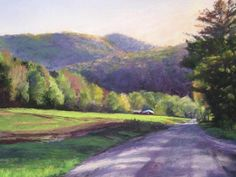Vermont is blossoming!    It seems we've skipped spring and jumped right into summer, but I say let the sun shine!!     Artist: Mallory Rich