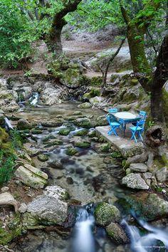 7 Springs - Rhodes Greece by Dimitris Koskinas, via 500px.