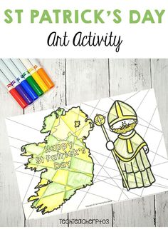 These fantastic black and white templates allow your students to effortlessly create impressive classroom wall displays. In addition, you can incorporate the cultural celebration of St Patrick's Day within your Art lessons by exploring warm and cool colours. Let students experiment with colours or use the directions contained in the pack to structure a lesson around warm and cool colours. #stpatrick #ireland #irish #celebration #art #activity #culture #symbols #coloring Primary School Curriculum, Kindergarten Social Studies, Classroom Wall Displays, Classroom Walls, Saint Patricks Day Art, Happy St Patricks Day, Special Education Activities, Art Activities, Warm And Cool Colors