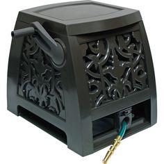 Garden: Excellent Black Lowes Decorative Garden Hose
