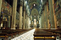 The Cathedral of Milan, Italy Duomo Milan, The Places Youll Go, Places To Visit, King Of Italy, Milan Cathedral, Gothic Architecture, Kirchen, Les Oeuvres, Catholic