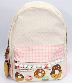i love this doughnut backpack