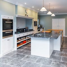 earlsfield traditional inframe kitchen