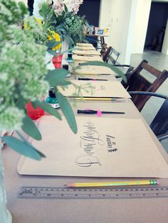 Calligraphy Workshop: