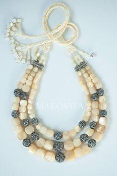 "ПрИкрасна майстерня ""Makoviya"" Bead Jewellery, Ethnic Jewelry, Beaded Jewelry, Beaded Bracelets, J Necklace, Women Jewelry, Fashion Jewelry, Beading Patterns, Handcrafted Jewelry"