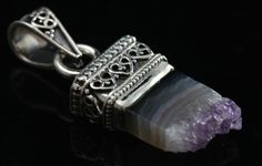 Druzy Amethyst Slice, Druzy crystals are astonishing with the power to dissolve negative.....http://www.ksccrystals.com/amethyst-pendants-274-c.asp