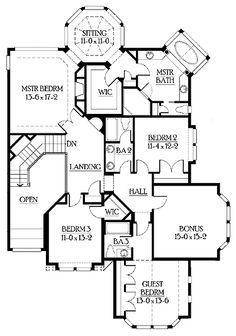 2 Story Dream House Floor Plans