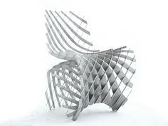 A Visionary 3-D Printed Chair That You Can Download Now