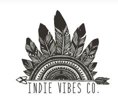 New official logo for Indie Vibes Co. I love it!!! ✌️❤️