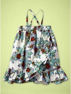 Floral ruffle dress | Gap