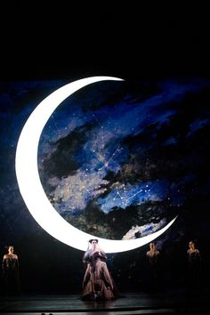 "This Backdrop. Diana Damrau as Queen of the Night in Mozart's ""The Magic Flute""."