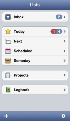 Things - a very good TODO list app. It syncs with its Mac OS app.