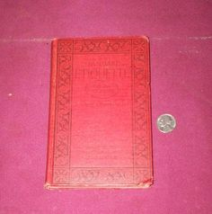 Image result for vintage etiquette books