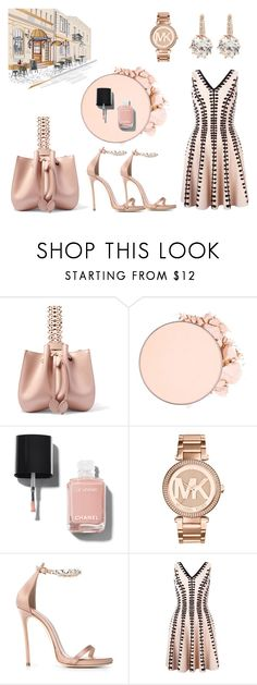 """not suit you"" by claribelelarkins ❤ liked on Polyvore featuring Alaïa, Anastasia Beverly Hills, Chanel, Michael Kors, Dsquared2, Alexander McQueen and vintage"