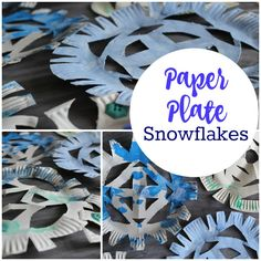 Paper Plate Snowflakes - Crafts on Sea