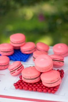 French Macaroon Recipe: Valentine