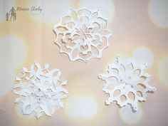Jak zrobić śnieżynki z papieru #śnieżynki #diy #zróbtosam #śnieżynkizpapieru