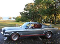 1966 Mustang Fastback classic car club manhattan