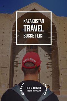 Khoja Akhmed Yassawi Mausoleum in Turkestan, Central Asia. Kazakhstan Travel Bucket List: Central Asia with Kalpak Travel