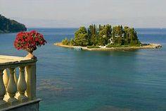 Pontikonisi Island, Corfu, Greece