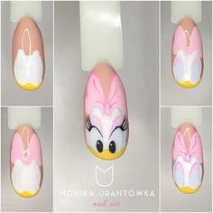 Summer nail art 700239442044302722 - Daisy Nails art étape par étape Source by venus_bella Daisy Nail Art, Daisy Nails, Gel Nail Art, Nail Art Diy, Glitter Nail Art, Art Nails, Galeries D'art D'ongles, Duck Nails, Mickey Nails