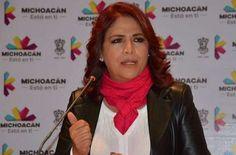 La titular de Seimujer afirmó que a pesar de la crisis económica por la que atraviesa Michoacán, los trabajos en favor de las mujeres no se detienen – Morelia, Michoacán, ...