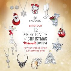 12 Moments of Christmas Pinterest #Contest. Click for details.