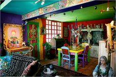 Casa de los Colores, San Miguel de Allende, Mexico