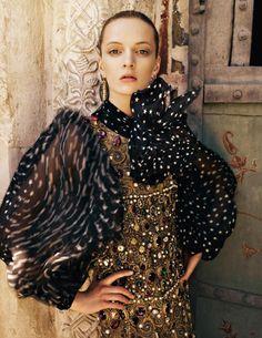 Vogue Russia - Gold Suzdal