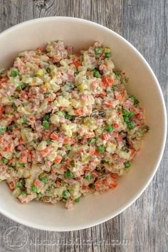 Olivye Ukrainian Potato Salad-8