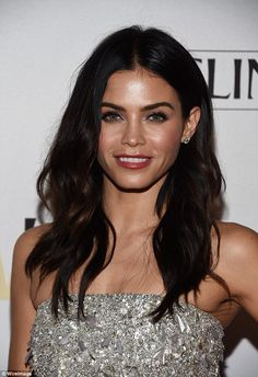 Jenna Dewan dazzles at Young Women's Honors #dailymail