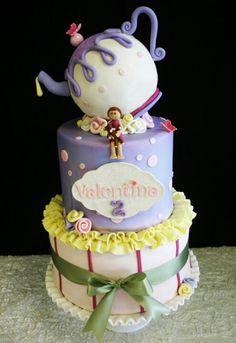 Tea pot cake  www.hellocakesbyvanessa. com