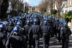 Crackdown on Blackstock Road came as Gordon Brown and Nicolas Sarkozy visited nearby Arsenal stadium yesterday Arsenal Stadium, Lauren Oliver, Gordon Brown, Finsbury Park, Cultural Identity, Book Trailers, City Landscape, North London, Thin Blue Lines