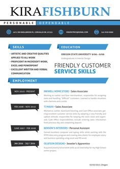Need a professional Resume that is sure to stand out? We got you covered.